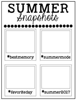 Summer Snapshots