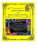 Summer Snapshots - Comprehension Worksheet Included
