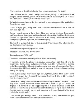 Summer Snowstorm - Science Fiction Short Story