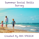 Summer Social Skills Middle School/ High School