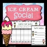 Summer Social Skills Activity - Ice Cream Social