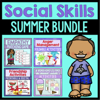 Summer Social Skills Bundle {Save 20%!}