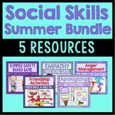 Social Skills Activities Bundle - Summer Themed