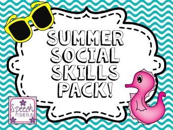 Summer Social Skills