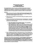 Summer Social Studies Movie Review Guidelines