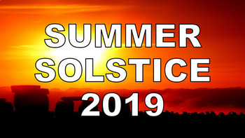 Summer Solstice 2018 - presentation, assembly, longest day, quiz, lesson