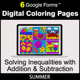 Summer: Solving Inequalities with Addition & Subtraction -