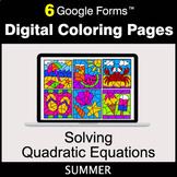 Summer: Solving Quadratic Equations - Google Forms | Digit