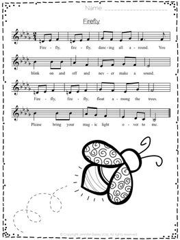 Summer Songs for Little Ones