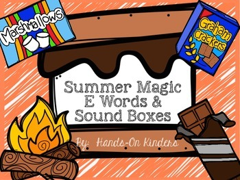 Summer Sound Boxes and Magic E Words