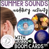Summer Sounds Listening and Language Audio Activity BOOM C
