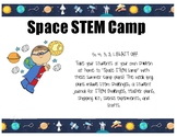 Summer Space STEM Camp