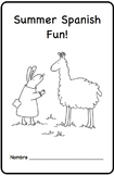 Summer Spanish Fun Printable Activity Book Spanish Resources