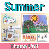 Summer Theme Unit For Special Education and ESY Programs