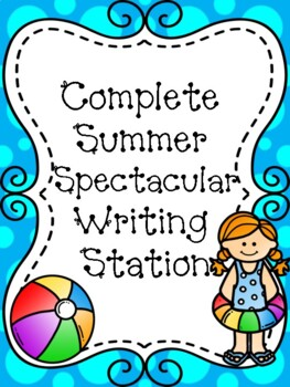 Summer Spectacular Complete Writing Station