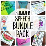 Summer Speech {BUNDLE PACK}