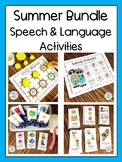 Summer Speech & Language Activities Bundle