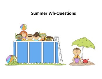 Summer Speech-Language Therapy: How Many, Who, and Where Questions