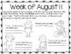 *Updated dates & NEW PAGES* Summer Speech & Language Weekl