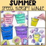Summer Speech Therapy Stuffer Craft BUNDLE