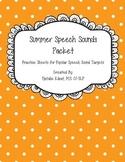 Summer Speech Word Lists