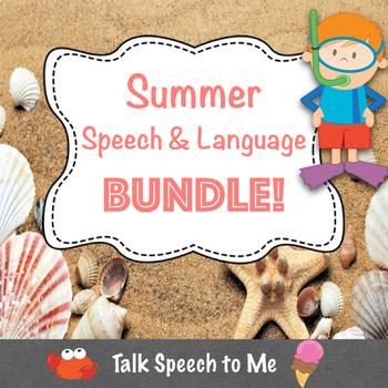 Summer Speech and Language BUNDLE