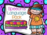 Summer Speech and Language Pack