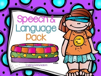 Summer Speech and Language Pack