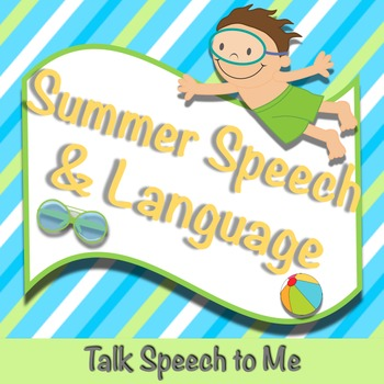 Summer Speech and Language Packet