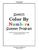 Summer Speech and Language Therapy Program