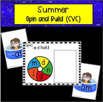 Summer Spin and Build Onset and Rime (CVC)