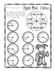 Summer - Spin the Time: Telling time :15 (quarter past) / :45 (quarter to)