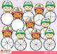 Summer Spinners Clip Art Bundle