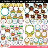 Summer Spinners Clip Art Bundle