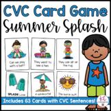 Summer Splash! A CVC Card Game