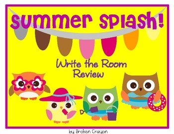 Summer Splash -/end of the year REVIEW