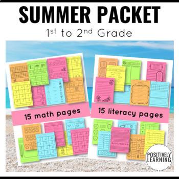 Summer Packet 1st Grade