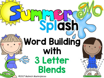 Summer Splash – Word Building with Three Letter Blends