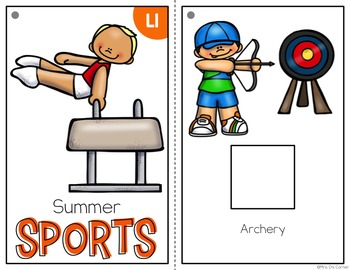 Summer Sports Adapted Books ( Level 1 and Level 2 )