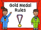Summer Sports Gold Medal Rules