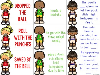 Sports Themed Idioms Matching