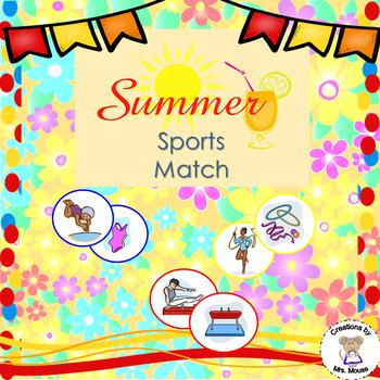 Sorting- Summer Sports Match