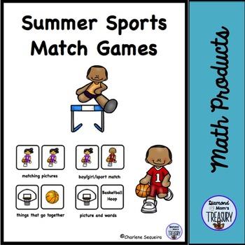 Summer Sports Match Games