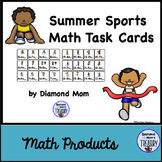 Summer Sports Math Task Cards