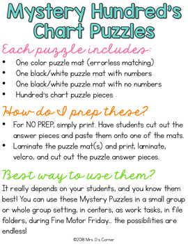 Summer Sports Mystery Picture Hundred's Chart Puzzles