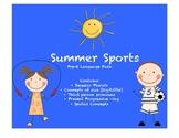 Summer Sports: Preschool Language Activity Pack