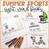 Summer Sports - Sight Word Books