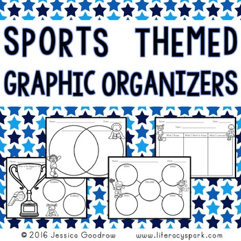 Summer Sports Themed Graphic Organizers