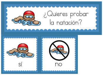 Spanish: Summer Sports and Games - Question of the Day