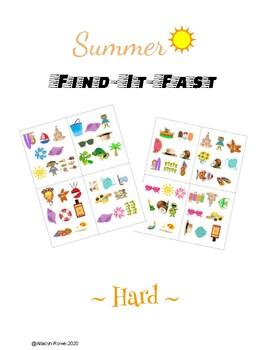 "Summer ""Find-It-Fast!""- Hard"